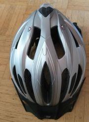Fahrradhelm grau