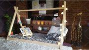 Hausbett TIPI Kinderbett Holzhausbett Für