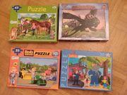 Set 4 Puzzle für Kinder