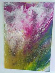 Acrylbild mit Splitterglas