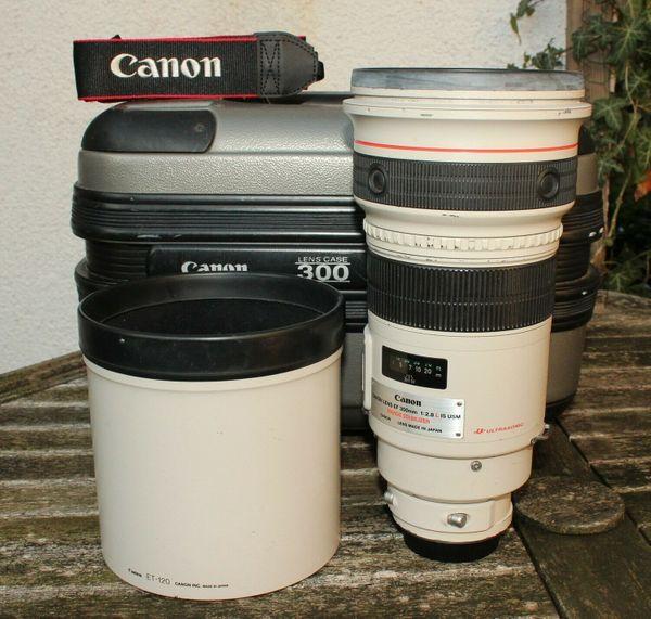 Canon EF 300 mm F2. 8 L IS USM Objektiv