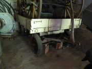 Drehkranz Doppelachsenwagen -anhänger