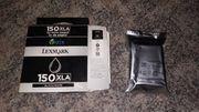 Lexmark Druckerpatrone 150XLA schwarz black