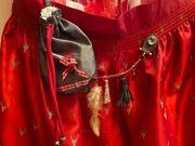 Dirndl Damen Rot