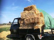 Weizenstroh in HD Ballen Ernte