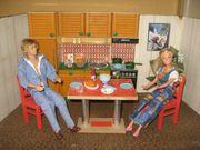 Küchenmöbel für Puppenstube-Puppenhaus-Puppenküche