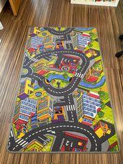 Spielteppich Kinder Teppich Straße