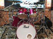 Schlagzeug Set mit Pearl Masters