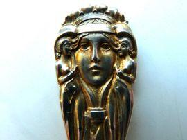 6 Moccalöffel Silber 800 Bruckmann Weltausstellung Paris 1900 Otto Rieth