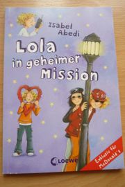 Buch Lola in geheimer Mission
