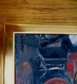 Kunst, Gemälde, Plastik - Pop Art altes Ölgemälde am