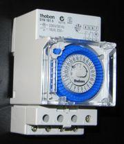 Zeitschaltuhr für Sicherungs- bzw Schaltschrank