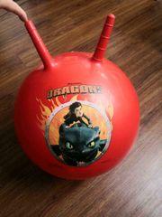 DRAGONS Hüpfball ca 45cm