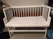 Baby Beistellbett mit Matratze
