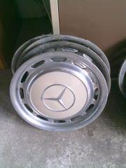 4 Mercedes Radkappen Modell W123