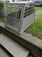 Hundetransportbox Alu