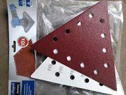 Scheppach Schleifpapier dreieckige Schleifscheiben 280