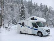 Wohnmobil mieten - auch im Winter