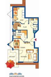 Attraktive 3-ZKB-Maisonette-Wohnung im Dachgeschoss