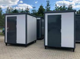 Sonstiger Gewerbebedarf - WC-Container - mit Dusche Sanitärcontainer Duschcontainer