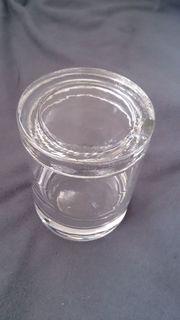 Marmeladenglas für Tisch - zylindrisch mit