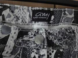 Damenbekleidung - Damenhose Tierprint G 38 schwarz