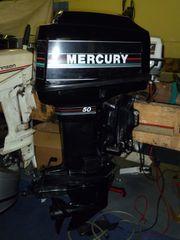 50 PS Mercury 2Takt Außenborder