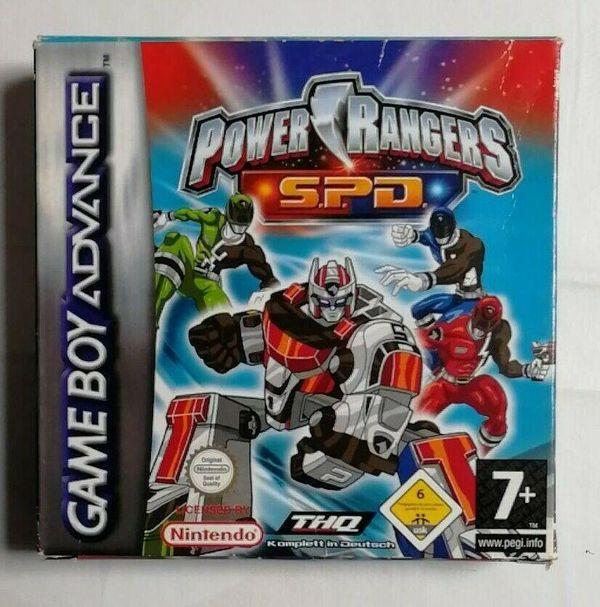 Gameboy Advance Spiel Power Rangers