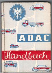 ADAC Handbuch Ausgabe 1959 kein