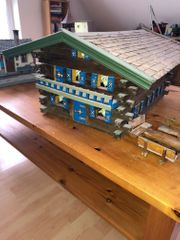 LGB Bauernhof Gartenbahn Handarbeit Holz