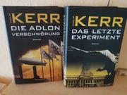 Philip Kerr Bücher kompl Abgabe