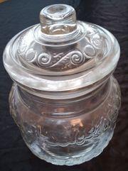 Bonbon Vorratsglas oder Rumtopf Glas