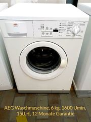 AEG Waschmaschine 6kg 1400 Umin