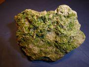 Grüner Calcit - Mineralien - Rohstein