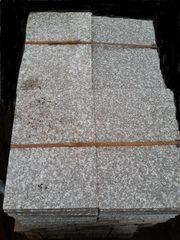 Terrassenplatten Granit grau-violett allseits gesägt