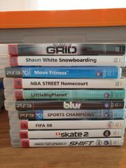 verschiedene PS 3 PS3 Spiele