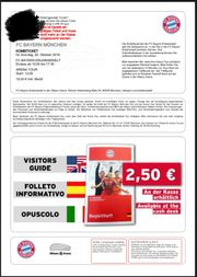 Erlebniswelt Arena Tour Fc Bayern