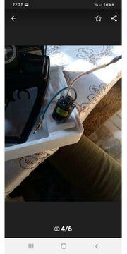 RC Fernbedienung und Elektromotor