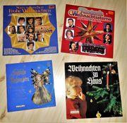 4 Weihnachts Lieder LP Schallplatte
