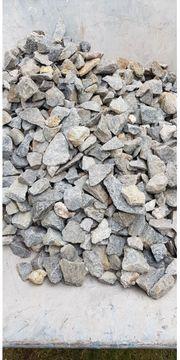 Granitsteine 5 bis 9 cm