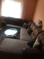 Sofa mit Bettfunktion zu Verschenken
