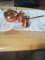 Kupfer set 3tlg