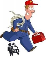Allrounder Handwerker bietet seine Hilfe