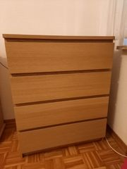 Ikea Malm Kommode Eiche 4