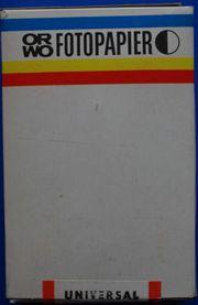 ORWO Fotopapier BN 117 100