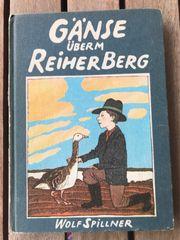 Kinderbuch Gänse überm Reiherberg von