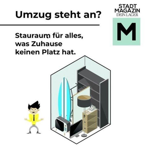 Stadtmagazin Self Storage Lagerboxen für