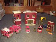 Feuerwehrstation - Spielzeug für Kinder