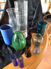diverse Glasvasen