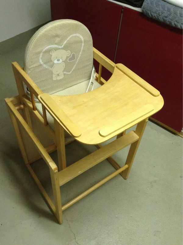 Hochstuhl Kinderstuhl aus Holz